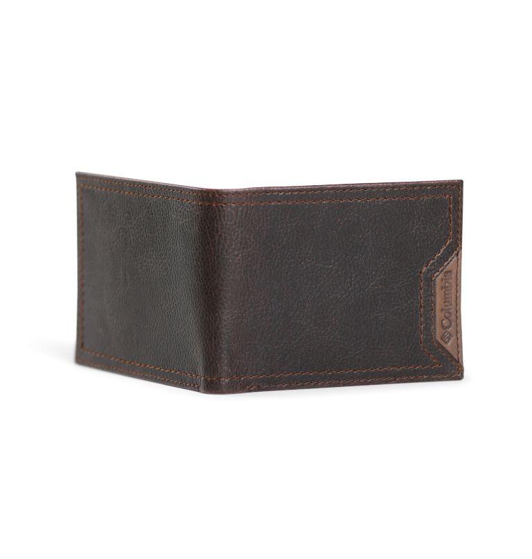 Slimfold Wallet With Phone Wallet Adhesi | 200 | O/S Men's Slim-fold with Adhesive Phone Wallet, Brown, back