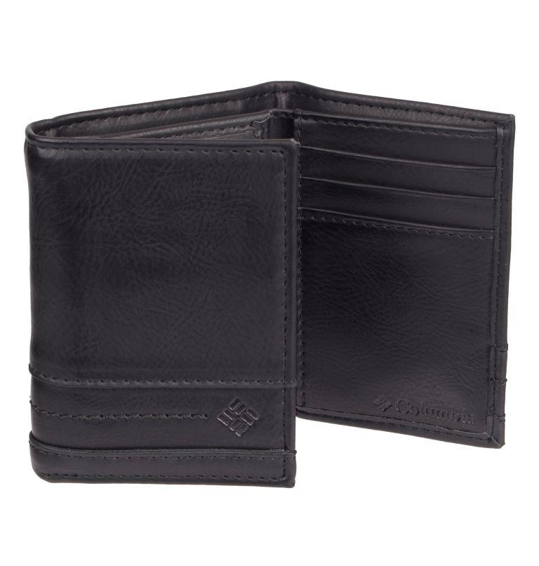 Men's Wallet Trifold RFID X-Ca | 001 | O/S Men's RFID Trifold  X-Capacity Wallet, Black, back