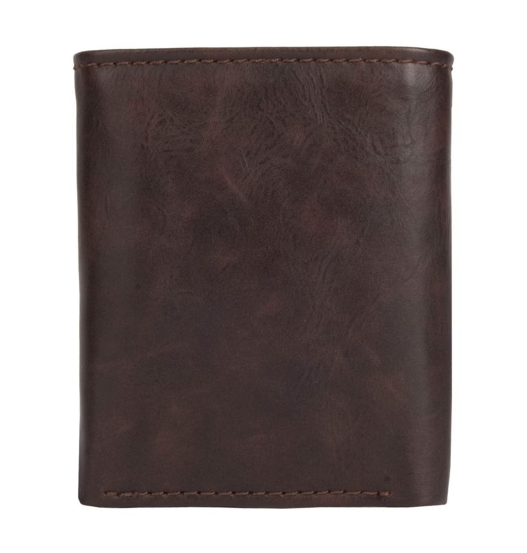 Men's Wallet Trifold Lofton RF | 200 | O/S Men's Trifold Lofton RFID Wallet, Brown, back