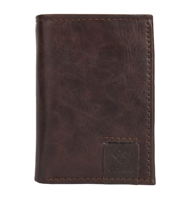 Men's Wallet Trifold Lofton RF | 200 | O/S Men's Trifold Lofton RFID Wallet, Brown, front
