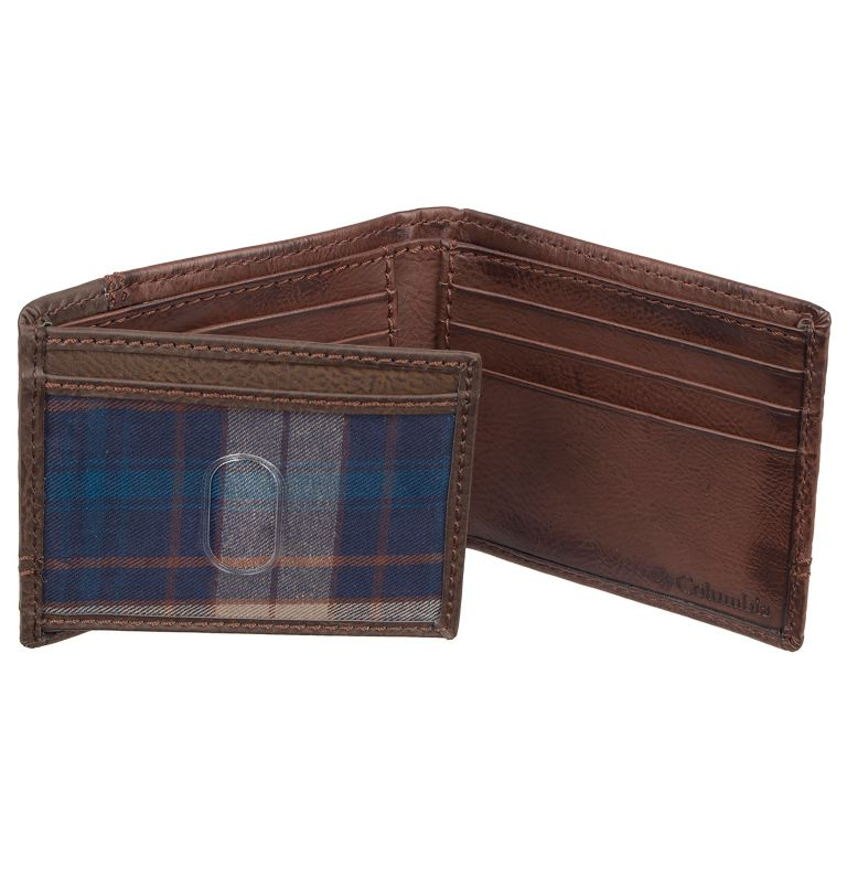 Men's Wallet Traveler RFID | 200 | O/S Men's RFID Traveler Wallet, Brown, a1