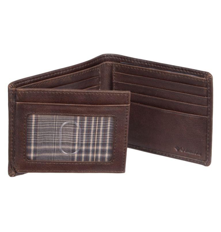 Men's Wallet RFID Pebbled Leat   200   O/S Men's Wallet RFID Pebbled Leather Wallet, Brown, a1