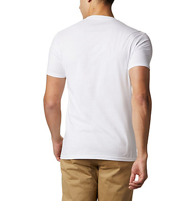 Men's Raya T-Shirt  Men's Raya T-Shirt Short Sleeve | 100 | XL, White, back