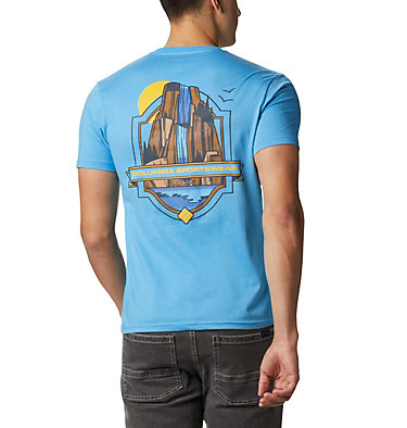 Men's Cliffed T-Shirt  Men's Cliffed T-Shirt Short Sleeve | 613 | S, Yacht, front