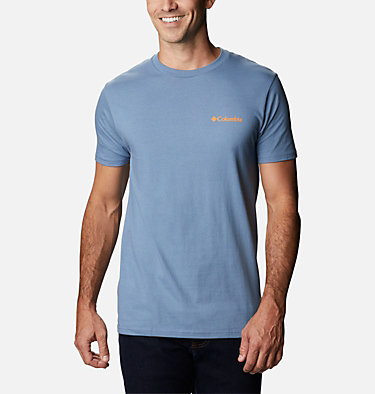 Men's Benic T-Shirt Men's Billt Graphic T-Shirt Short Sleeve | 314 | S, Steel, back