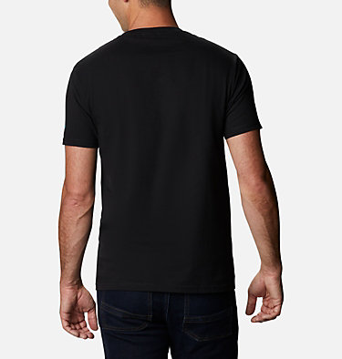 Men's Bucks T-Shirt Men's Bucks Graphic T-Shirt Short Sleeve | 314 | S, Black, back
