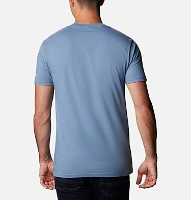 Men's Bucks T-Shirt Men's Bucks Graphic T-Shirt Short Sleeve | 314 | S, Steel, back