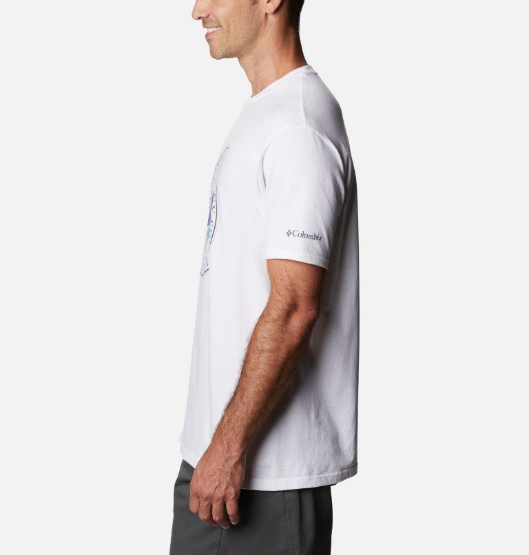 Men's Iconic Graphic T-Shirt Short Sleeve | 100 | M Men's Iconic T-Shirt, White, a1
