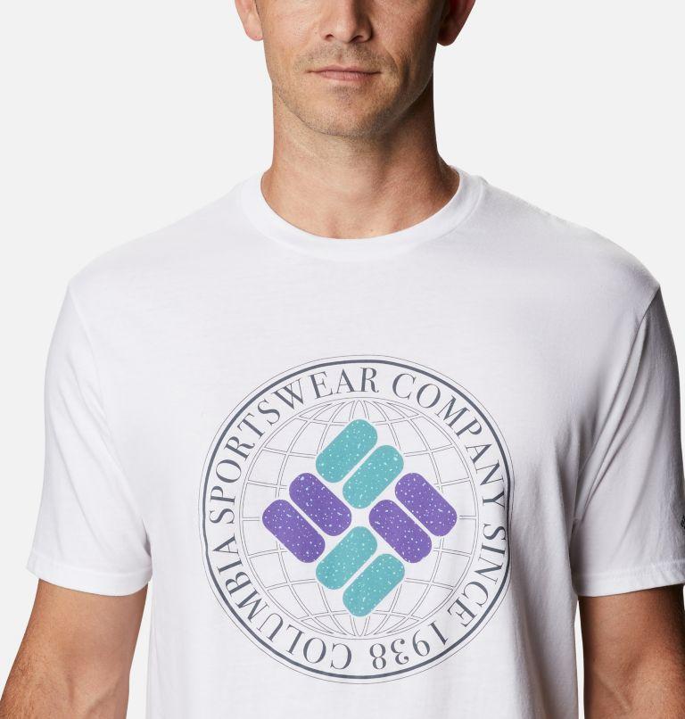 Men's Iconic Graphic T-Shirt Short Sleeve | 100 | M Men's Iconic T-Shirt, White, a2