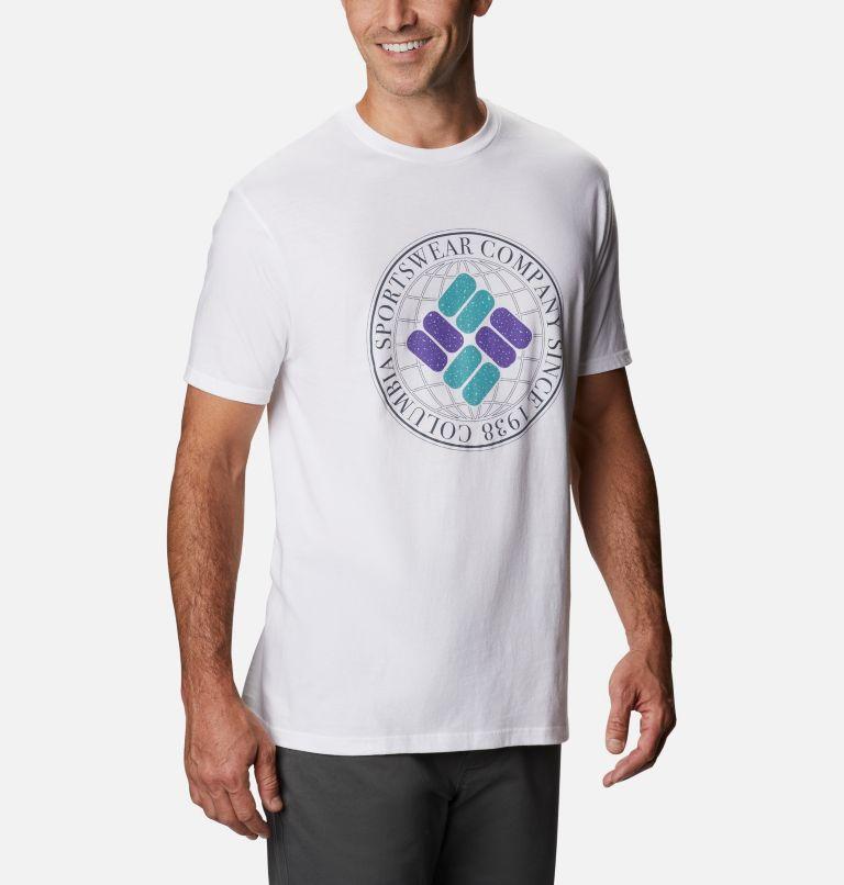 Men's Iconic Graphic T-Shirt Short Sleeve | 100 | M Men's Iconic T-Shirt, White, a3