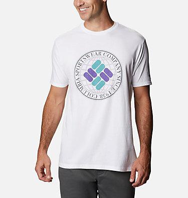Men's Iconic T-Shirt Men's Iconic Graphic T-Shirt Short Sleeve | 100 | S, White, front