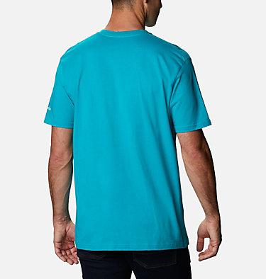 Men's Iconic T-Shirt Men's Iconic Graphic T-Shirt Short Sleeve | 100 | S, Emerald Sea, back