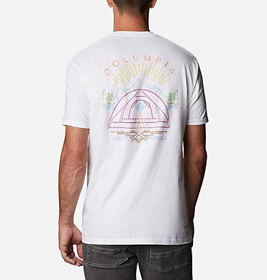 Men's Namp T-Shirt Men's Namp Graphic T-Shirt Short Sleeve   010   S, White, front