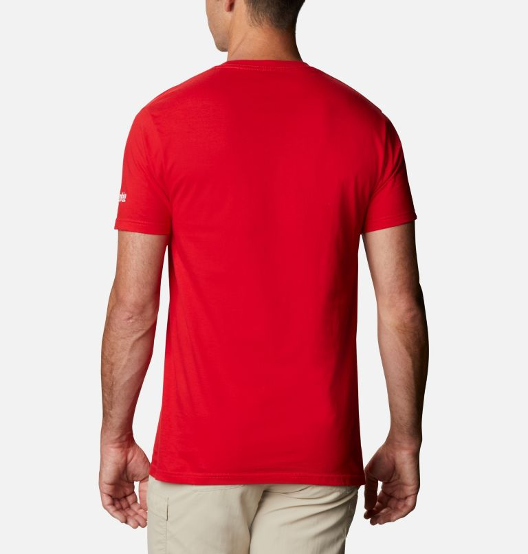 Men's PFG Cairy Graphic T-Shirt Short Sleeve | 696 | XL Men's PFG Cairy T-Shirt, Red Sprak, back