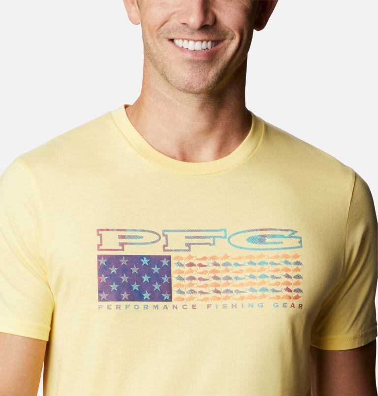 Men's PFG Cairy Graphic T-Shirt Short Sleeve | 707 | M Men's PFG Cairy T-Shirt, Sunlit, a2