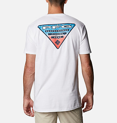 Men's PFG Eldo T-Shirt Men's PFG Eldo Graphic T-Shirt Short Sleeve | 651 | S, White, front