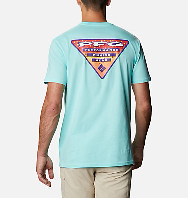 Men's PFG Eldo T-Shirt Men's PFG Eldo Graphic T-Shirt Short Sleeve | 651 | S, Gulf Stream, front