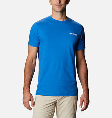 Men's PFG Jiffy T-Shirt Men's PFG Jiffy Graphic T-Shirt Short Sleeve | 100 | S, Vivid Blue, back