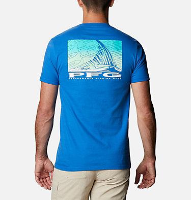 Men's PFG Jiffy T-Shirt Men's PFG Jiffy Graphic T-Shirt Short Sleeve | 100 | S, Vivid Blue, front
