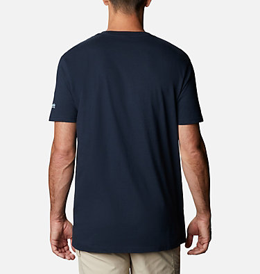 Men's PFG Perform T-Shirt Men's PFG Perform Graphic T-Shirt Short Sleeve | 425 | S, Columbia Navy, back