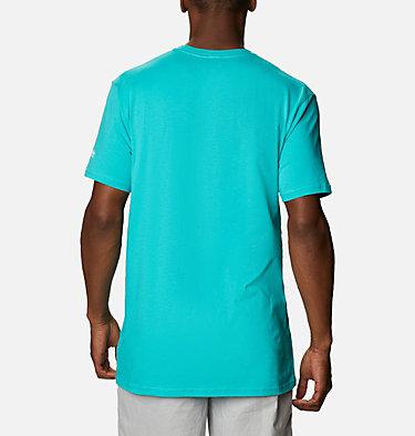 Men's PFG Perform T-Shirt Men's PFG Perform Graphic T-Shirt Short Sleeve | 425 | S, Bright Aqua, back