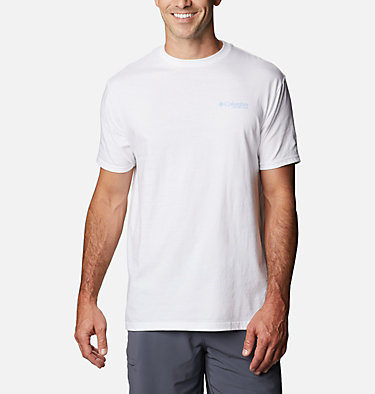 Men's PFG Seon T-Shirt Men's PFG Seon Graphic T-Shirt Short Sleeve | 010 | S, White, back