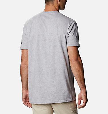 Men's PFG Signal T-Shirt Men's PFG Signal Graphic T-Shirt Short Sleeve | 100 | S, Grey Heather, back