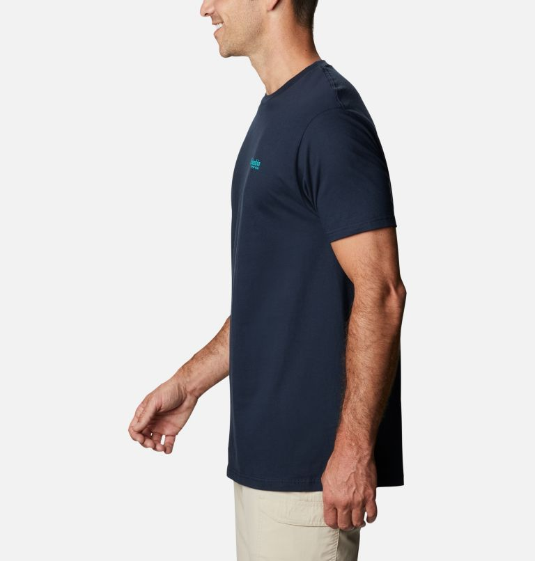 Men's PFG Strum Graphic T-Shirt Short Sleeve | 425 | S Men's PFG Strum T-Shirt, Columbia Navy, a1