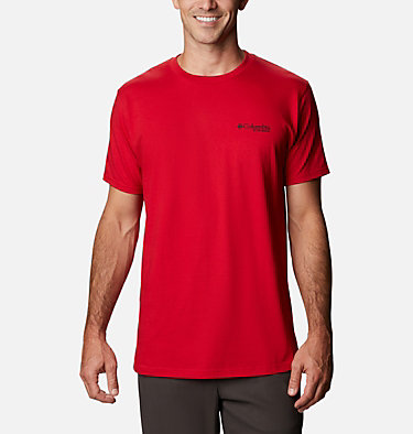 Men's PHG Amount T-Shirt Men's PHG Amount Graphic T-Shirt Short Sleeve | 613 | S, Mountain Red, back