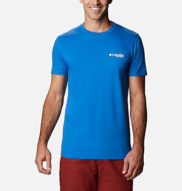 Men's PHG Baron T-Shirt Men's PHG Baron Graphic T-Shirt Short Sleeve | 487 | S, Vivid Blue, back