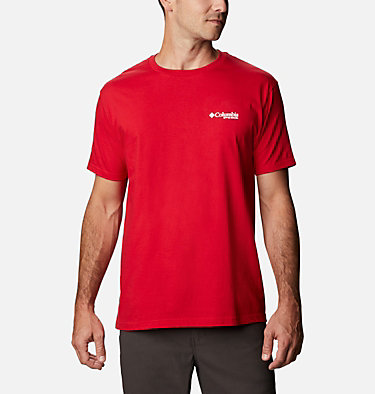 Men's PHG Baron T-Shirt Men's PHG Baron Graphic T-Shirt Short Sleeve | 487 | S, Mountain Red, back