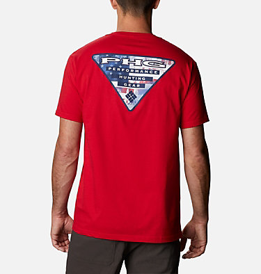 Men's PHG Baron T-Shirt Men's PHG Baron Graphic T-Shirt Short Sleeve | 487 | S, Mountain Red, front