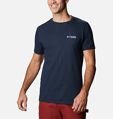 Men's PHG Haunt T-Shirt Men's PHG Haunt Graphic T-Shirt Short Sleeve | 245 | S, Columbia Navy, back
