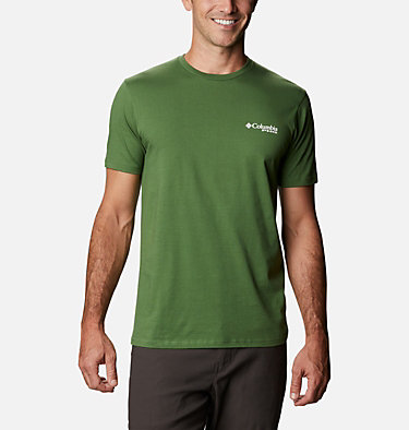 Men's PHG Leap T-Shirt Men's PHG Leap Graphic T-Shirt Short Sleeve | 425 | S, Dark Backcountry, back