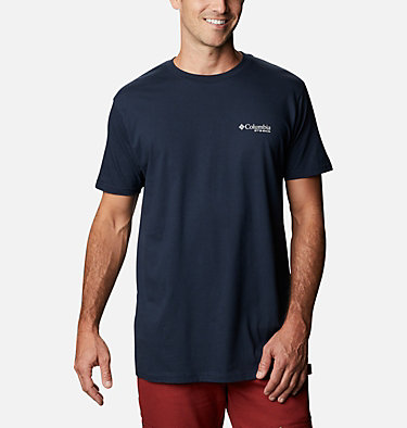 Men's PHG Leap T-Shirt Men's PHG Leap Graphic T-Shirt Short Sleeve | 425 | S, Columbia Navy, back