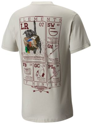 Men S Phg Elements Tee Shirt Cotton Poly Columbia Com