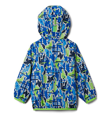 Toddler Mini Pixel Grabber™ II Wind Jacket Mini Pixel Grabber™ II Wind Jacket | 378 | 2T, Green Mamba Brushy Camo, back