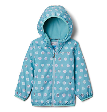 Toddler Mini Pixel Grabber™ II Wind Jacket Mini Pixel Grabber™ II Wind Jacket | 481 | 2T, Aquatint Polka Pets, front