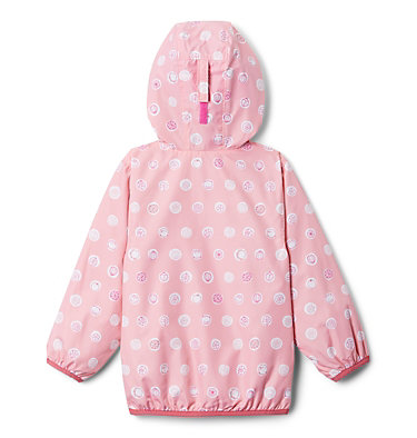 Toddler Mini Pixel Grabber™ II Wind Jacket Mini Pixel Grabber™ II Wind Jacket | 481 | 2T, Pink Orchid Polka Pets, back