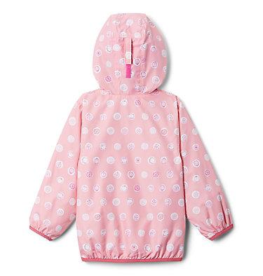 Manteau coupe-vent Mini Pixel Grabber™ II pour garçon – Tout-petit Mini Pixel Grabber™ II Wind Jacket | 481 | 2T, Pink Orchid Polka Pets, back
