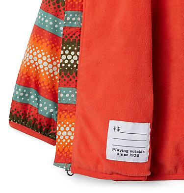 Manteau coupe-vent Mini Pixel Grabber™ II pour garçon – Tout-petit Mini Pixel Grabber™ II Wind Jacket | 481 | 2T, Wildfire Bubble Stripes, a1