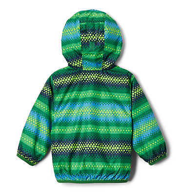 Infant Mini Pixel Grabber™ II Wind Jacket Mini Pixel Grabber™ II Wind Jacket   362   12/18, True Green Bubble Stripes, back