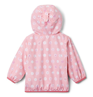 Infant Mini Pixel Grabber™ II Wind Jacket Mini Pixel Grabber™ II Wind Jacket | 454 | 0/3, Pink Orchid Polka Pets, back