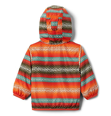 Infant Mini Pixel Grabber™ II Wind Jacket Mini Pixel Grabber™ II Wind Jacket | 845 | 12/18, Wildfire Bubble Stripes, back