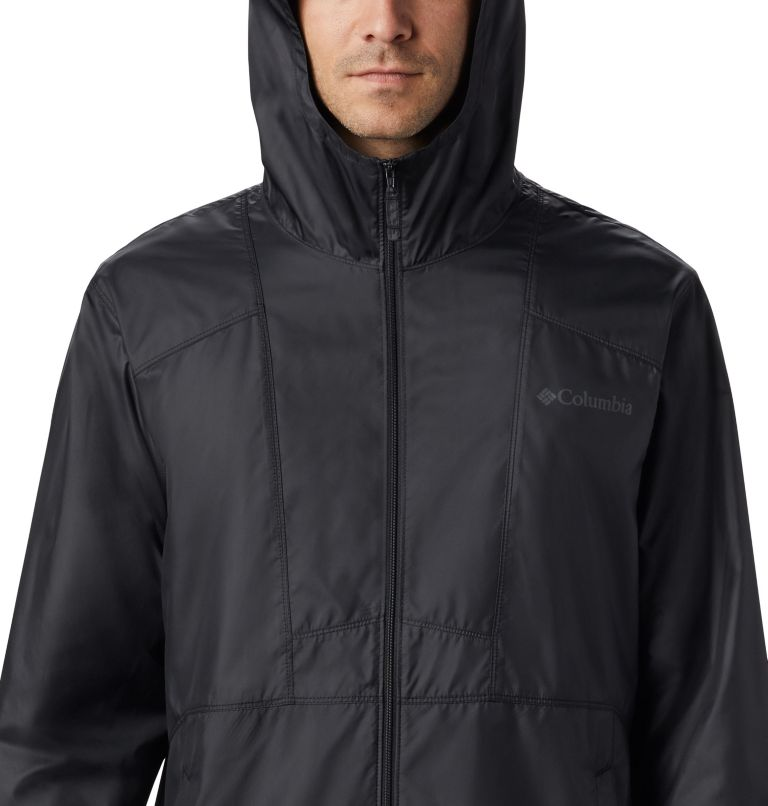 M Flashback™ Windbreaker | 011 | M Men's Flashback Windbreaker, Black, Black, a2