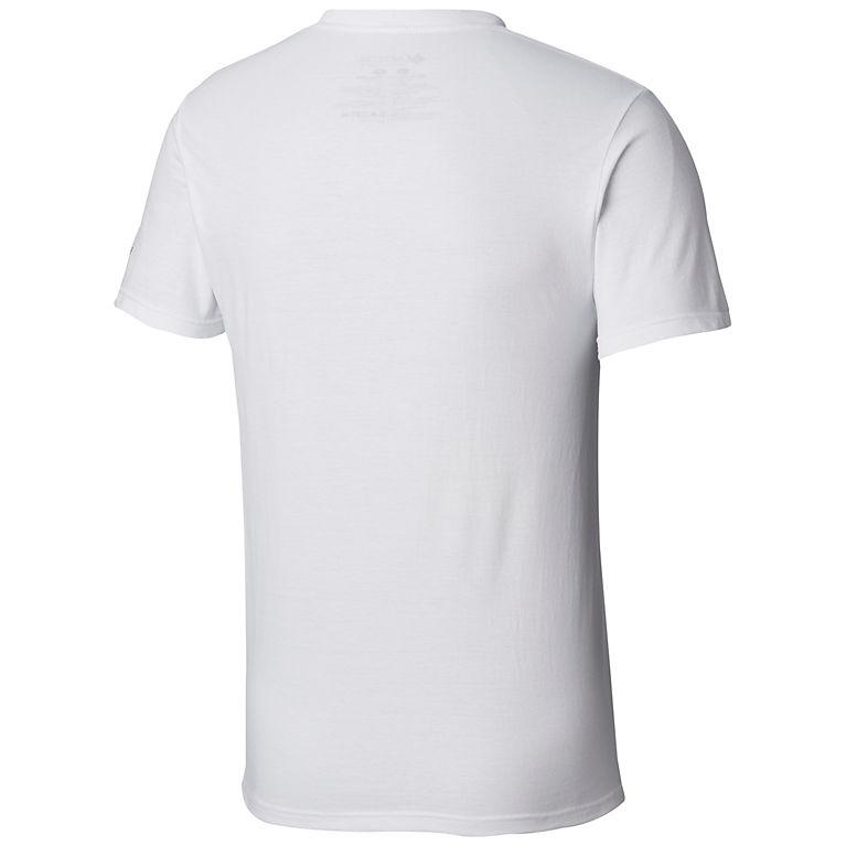 COLUMBIA SPORTSWEAR Men/'s White Graphic T-Shirt