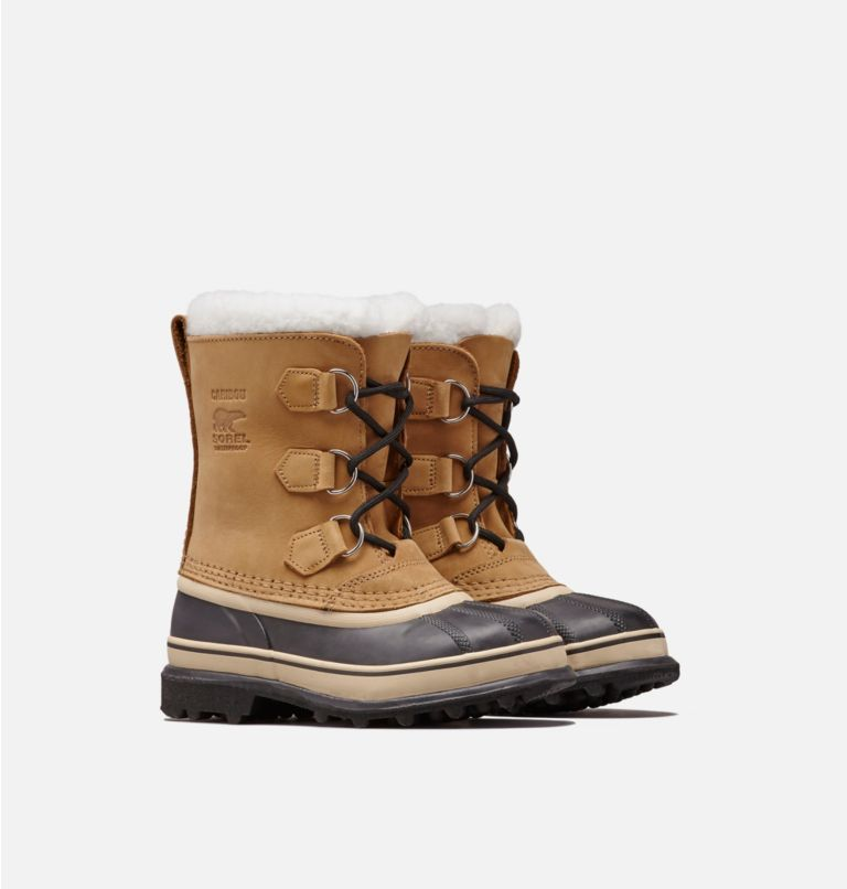YOUTH CARIBOU™ | 281 | 7 Youth Caribou™ Boot size 13-6, Buff, 3/4 front