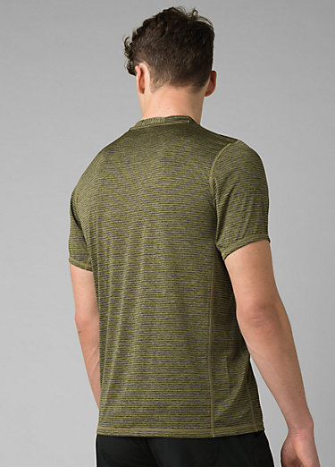Hardesty Short Sleeve Hardesty Short Sleeve, Pistachio Stripe