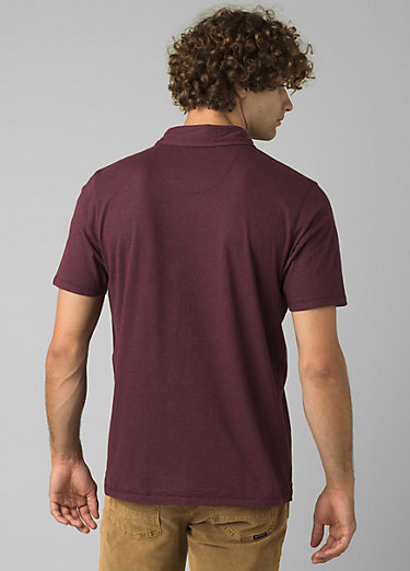 prAna Polo prAna Polo, Raisin Heather