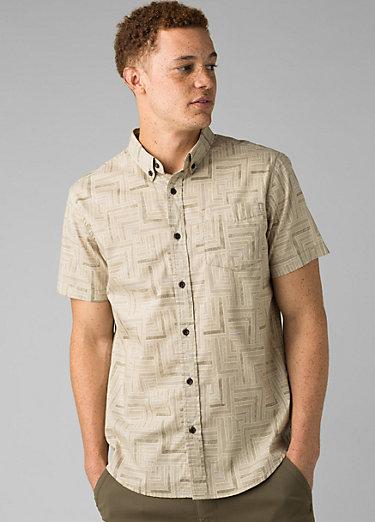Broderick Shirt - Slim Broderick Shirt - Slim, Dark Khaki Tile